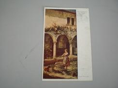 Rento Trient  Alter Klosterhof  Wiener Kunstler 1918 - Trento