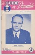 Petit Livre Le Guide Dudiscophile Colombia 1951 - Varia