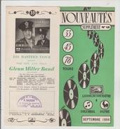 Petit Livre Nouveautes 1954 Voix De Son Maitre - Varia