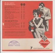 Petit Livre Telefunken 1954 - Varia