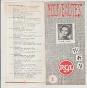 Petit Livre Nouveautes Rca - Varia