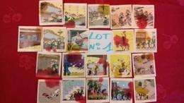 Lot De 20 Images Lot N°1 Figurine De La BD Lucky Luke Monochrome Morris 1970(bureau) - Autres