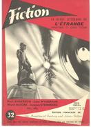 FICTION N° 32 Juillet 1956 Revue Littéraire De L'étrange Fantastique Et Science Fiction - P ANDERSON, J WYNDHAM, Etc - Boeken, Tijdschriften, Stripverhalen
