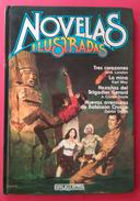 NOVELAS ILUSTRADAS - BRUGUERA - 3 AVENTURAS A TODO COLOR. USADO. - Libros, Revistas, Cómics