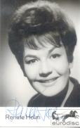 Renate Holm, Geborene Renate Franke, Auch Renate Haase (* 10. August 1931 In Berlin) Ist Eine Deutsch-österreichische Op - Autographs