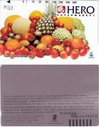 INDONESIA INDONESIEN  INDONESIE - P 368 Hero Supermarket-Mix Fruit --. MINT RRR
