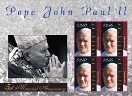 MINT N.H ST.KITTS ; SCOTT # 784 ; IGPC 10189 SH :  ( POPE JOHN PAUL II - St.Kitts En Nevis ( 1983-...)
