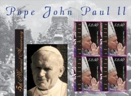 MINT N.H ST.KITTS ; SCOTT # 785 ; IGPC 1020 SH :  ( POPE JOHN PAUL II - St.Kitts En Nevis ( 1983-...)