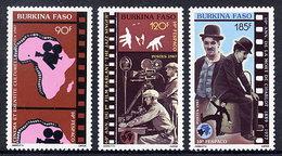 BURKINA FASO 1987 Cinema And Cultural Identity MNH / ** - Burkina Faso (1984-...)