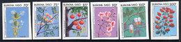 BURKINA FASO 1987 Flowers Imperforate MNH / ** - Burkina Faso (1984-...)