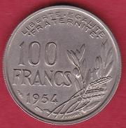 France 100 Francs Cochet 1954 - SUP - N. 100 Francs