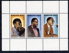 BURKINA FASO 1989 Cinema FESPACO Block MNH / ** - Burkina Faso (1984-...)