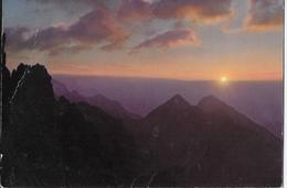 DOLOMITI DI BRENTA - ALBA DAL RIFUGIO PEDROTTI SULLA VIA DELLE BOCCHETTE - NUOVA NV SCRITTA AL RETRO - Alpinisme