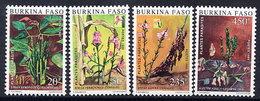 BURKINA FASO 1989 Parasitic Plants MNH / ** - Burkina Faso (1984-...)