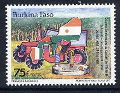BURKINA FASO 1989 30th Anniversary Of Council Of Unity MNH / ** - Burkina Faso (1984-...)