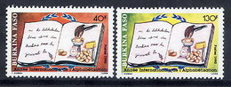 BURKINA FASO 1989 Literacy Year MNH / **. - Burkina Faso (1984-...)