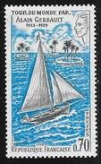 N° 1621 FRANCE  -  NEUF  - TOUR DU MONDE PAR ALAIN GERBAULT - Unused Stamps