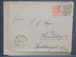LITUANIE - Enveloppe Pour Hamburg , Période 1919 / 1930 - L 7265 - Lituanie