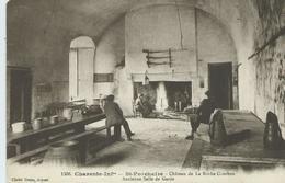 17,Charente-Maritime, SAINT-PORCHAIRE Chateau De La Roche-Courbon,Ancienne Salle Des Gardes, Personna, Scan Recto-Verso - Sonstige Gemeinden
