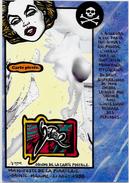 CPM LARDIE JIHEL Carte Salon Pirate Sainte Maxime 1988 Nu Féminin érotisme éros Marilyn Monroe - Bourses & Salons De Collections