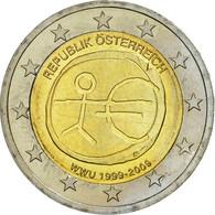 Autriche, 2 Euro, 10 Jahre Euro, 2009, SPL, Bi-Metallic - Autriche