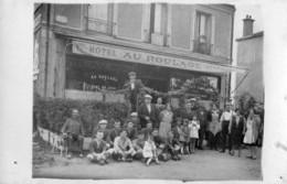 Carte Photo  - Hotel Au Roulage  - La Plaque De Rue Indique Avenue Gallieni - A Identifier