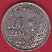 France 100 Francs Cochet 1958 - SUP - N. 100 Francs