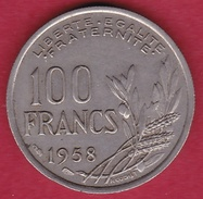 France 100 Francs Cochet 1958 - N. 100 Francs