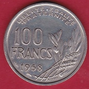 France 100 Francs Cochet 1958 B - FDC - N. 100 Francs