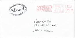 EMA - 1905 - ANGOULEME - ANGOULEME VILLE DES IMAGES ET DE LA BD (rouge) - 00048 Hd 102899 - Postmark Collection (Covers)
