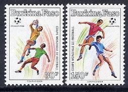 BURKINA FASO 1990 Football World Cup  MNH / ** - Burkina Faso (1984-...)