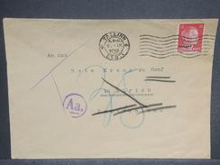 ALLEMAGNE / ESTONIE- Enveloppe De Tallinn Pour La Suisse En 1942 Avec Censure , Affr. Plaisant - L 7273 - Allemagne