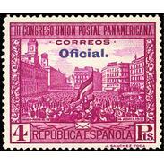 ES628STV-LTV***628STBSC.Spain.Esgane.BANDERA.UNION POSTAL PANAMERICANA.Puerta Del Sol. 1931 (Ed 628**) - Sin Clasificación