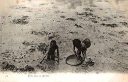 RARE     ASIE - VIET NAM -VIETNAM INDOCHINE Tonkin Péche Dans La Riziére - Vietnam