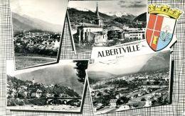 N°53402 -cpsm Albertville -multivues- - Albertville