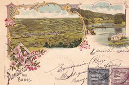 PLOMBIERES LES BAINS - Panorama Du Val D'Ajol - Ancienne Abbaye D'Hérival - Plombieres Les Bains