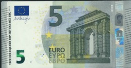 T IRELAND  5 EURO TC T001 J3  DRAGHI  UNC - 5 Euro
