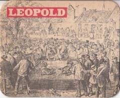 Leopold - Dorpstafereel - Nummer 2 - Ongebruikt Exemplaar - Bierviltjes