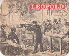 Leopold - Dorpstafereel - Nummer 3 - Ongebruikt Exemplaar - Bierviltjes