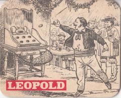 Leopold - Dorpstafereel - Nummer 4 - Ongebruikt Exemplaar - Bierviltjes