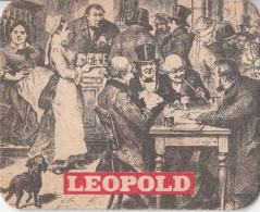 Leopold - Dorpstafereel - Nummer 5 - Ongebruikt Exemplaar - Bierviltjes