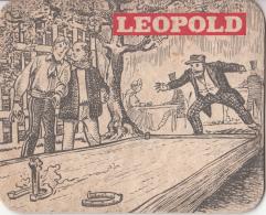 Leopold - Dorpstafereel - Nummer 6 - Ongebruikt Exemplaar - Bierviltjes