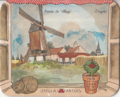 Stella Artois - 1978 Jaar Van Het Dorp - Zingem - Ongebruikt Exemplaar - Bierviltjes
