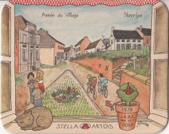Stella Artois - 1978 Jaar Van Het Dorp - Neerijse - Ongebruikt Exemplaar - Bierviltjes