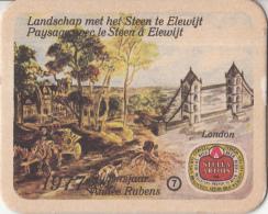 Stella Artois - 1977 Rubensjaar - Landschap Met Het Steen Te Elewijt - Nummer 7 - Ongebruikt Exemplaar - Bierviltjes