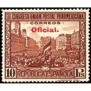 ES629STV-LTV***629STBSC.Spain.Esgane.BANDERA.UNION POSTAL PANAMERICANA.Puerta Del Sol. 1931 (Ed 629**) - Sin Clasificación