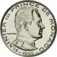 Monaco, Rainier III, Franc, 1995, Paris, FDC, Nickel, KM:140 - Monaco