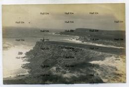 Malta Postcard Real Photo Seashore Headland With Tower Sliema Valletta 1900s-10s Era Postcard - Malta