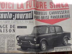 L'auto Journal De Février 1957. - Cars