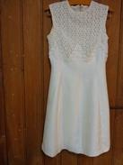 Robe Blanche Sans Manche - Mariage